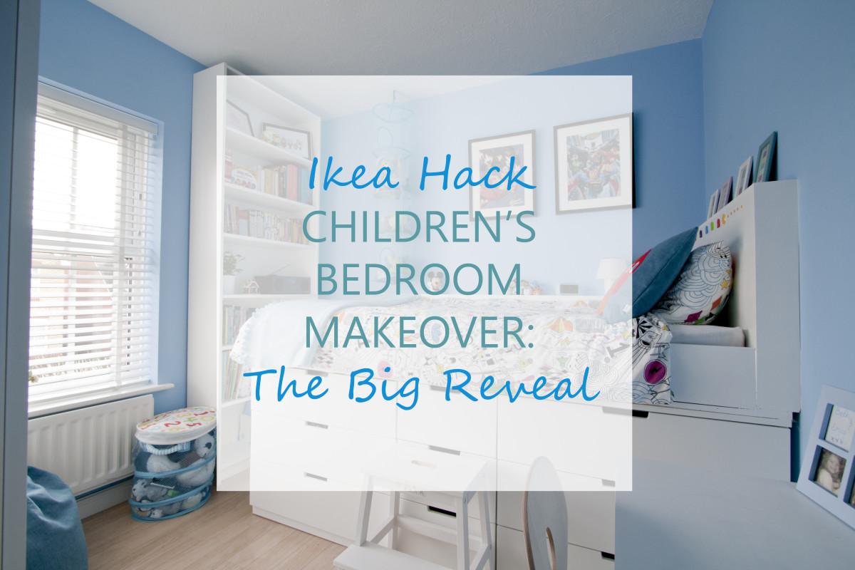 Ikea Hack Children s Bedroom Makeover The Big Reveal