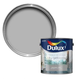 Dulux Travels in Colour Monument Grey Matt Emulsion