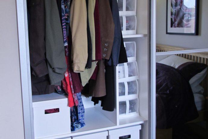 Decluttered house, decluttered head.