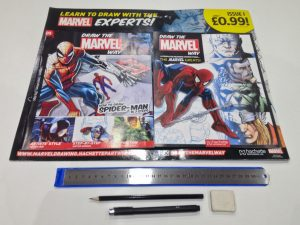 Draw the Marvel Way 1