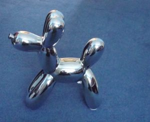 Balloon Dog settles into new home