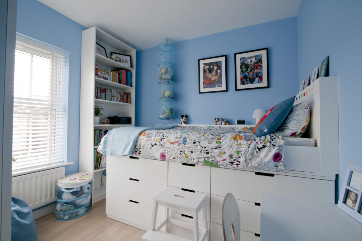 Girls Bedroom Storage Ideas Our Diy Ikea Hack Children S Cabin Bed Is Featured On
