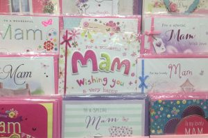 Noth East Mother's Day Cards say 'Mam' up NOrth