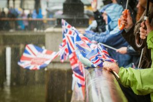 Very British Problems British Flags in the rain