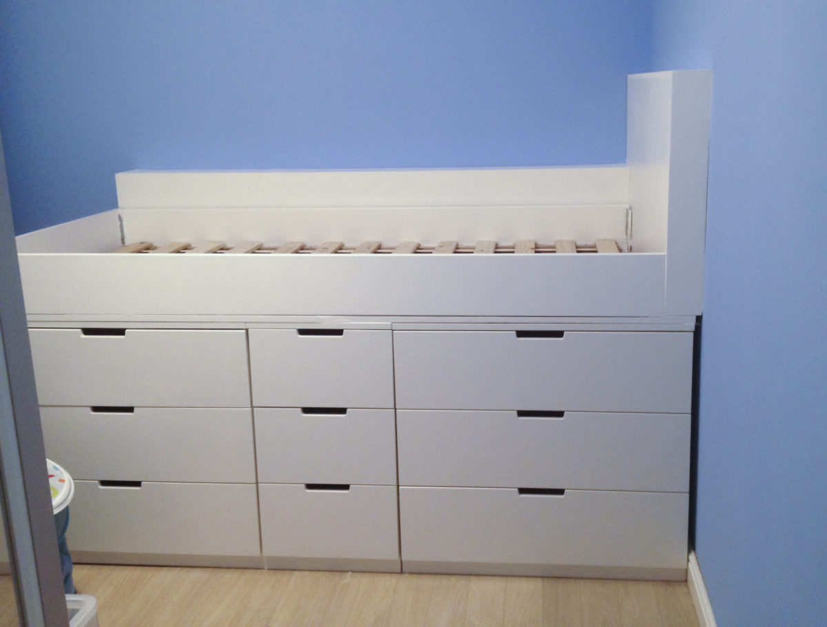 Ikea Small Bedroom Diy How To Make An Ikea Hack Children S Cabin Bed With