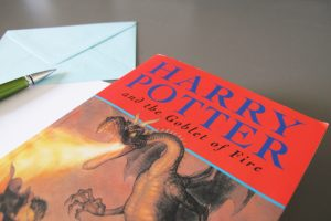 JK Rowling Harry Potter Book and Letter