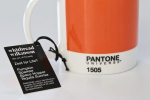 Pantone Universe Mug suggested colour names