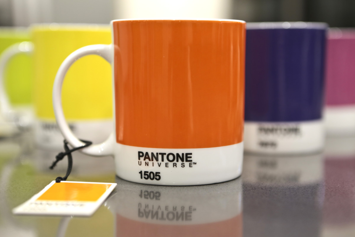 I've found my perfect mugs: Pantone Universe mugs