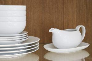 John Lewis Coupe Tableware