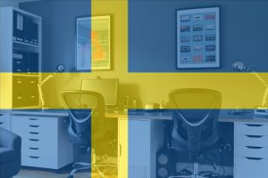 Study Swedish flag IkeaHackers Ikea Hack