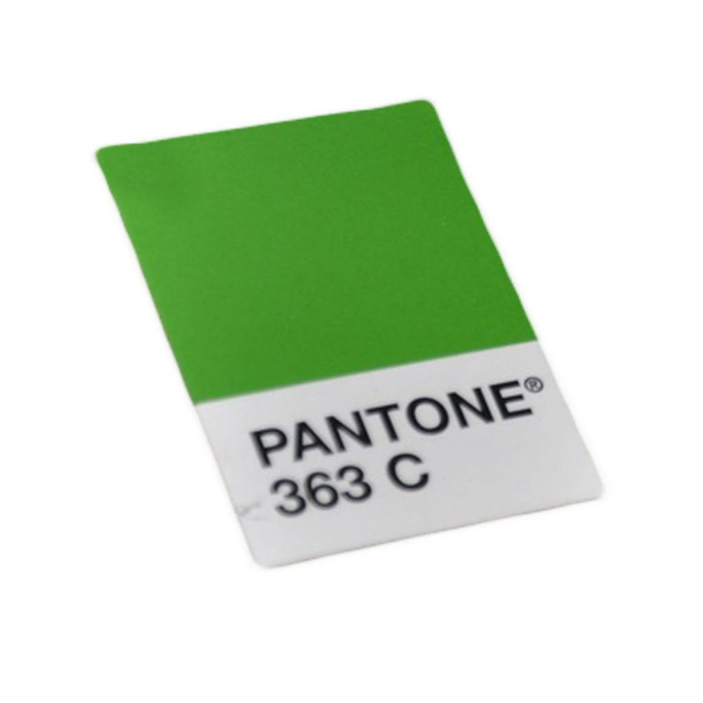 Pantone c363 colour swatch