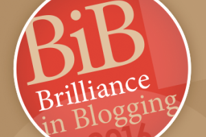 The BiB (Brilliance in Blogging) Awards 2016