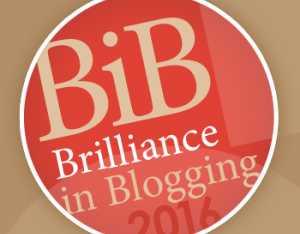 The BiB (Brilliance in Blogging) Awards 2016