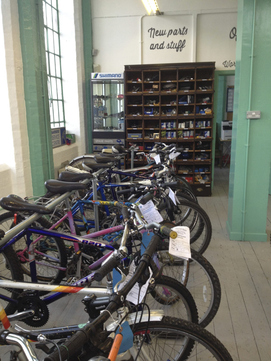 Nottingham Bike Works Bike Selection