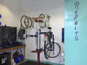 Nottingham Bike Works Workshop
