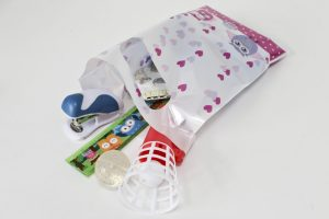 Children's birthday party bag