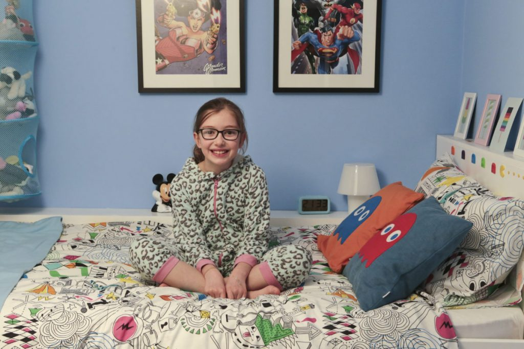 Emily loves her ikea hack bedroom with Ikea Hack children's cabin bed