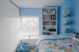 Emily loves her Ikea Hack children's cabin bed and bedroom makeover