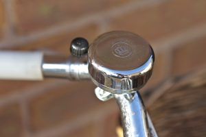 Chrome bicycle bell