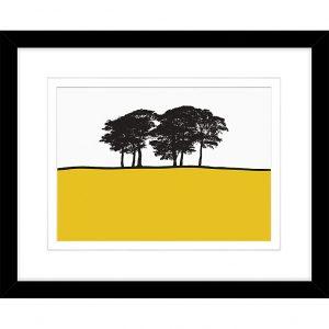 Jacky Al-Samarraie - Skipton Yellow, Framed Print, 44 x 54cm (John Lewis, £50)