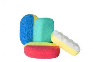 Dry Bath Sponges