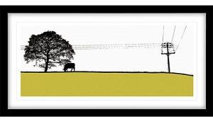 Jacky Al-Samarraie -Yeadon Framed Print, 44 x 84cm, ( John Lewis, £100)