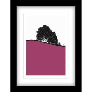 Jacky Al-Samarraie - Hawkshead Framed Print, (Pink) 44 x 34cm (John Lewis £40)