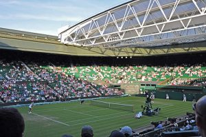 Wimbledon with retractable roof. Why I love tennis: My top 10 Wimbledon Moments