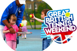 Anyone for (FREE) tennis? Great British Tennis Weekend 16th-17th July.