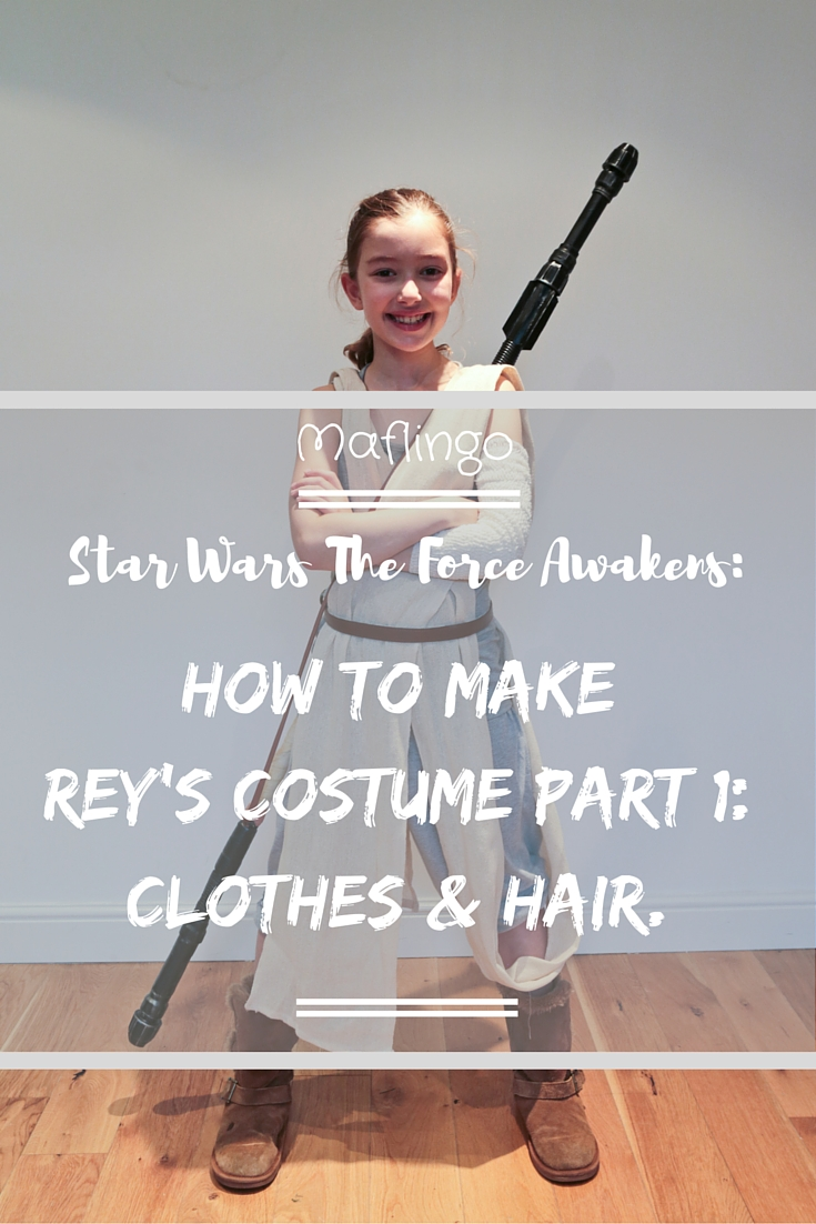How to make an awesome diy star wars rey costume on a budget in part 2 diy star wars rey staff tutorial solutioingenieria Choice Image