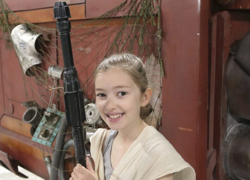 I make a DIY Star Wars Rey costume for Emily's convention adventures.