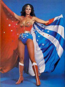 Lynda Carter the original 1970's TV Wonder Woman.