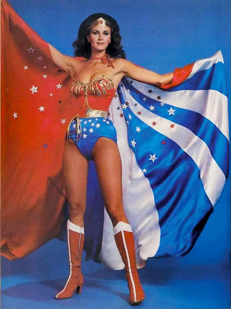 Lynda Carter the original 1970's TV Wonder Woman.