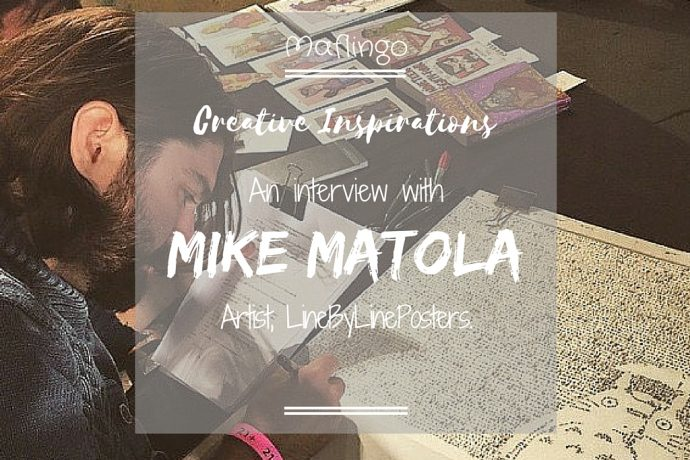 Creative Inspirations: Mike Matola, LineByLinePosters.