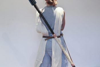 Tutorial : How to make a DIY Star Wars Rey Staff on a budget.