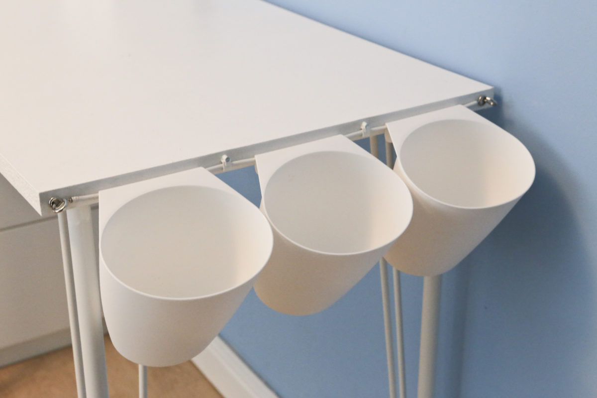 Diy Project Children S Ikea Hack Desk Tidy