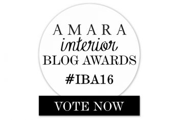 Vote for me! Best DIY & Craft Blog, Amara Interior Blog Awards 2016.