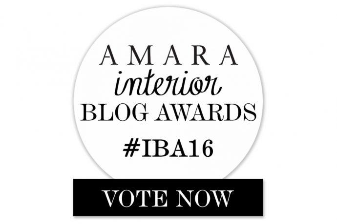 Vote for me! Best DIY & Craft Blog, Amara Interior Blog Awards 2016.
