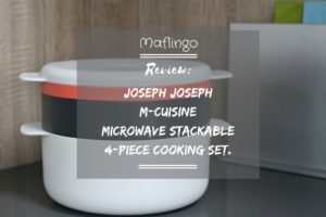 Joseph Joseph M-Cuisine microwave cooking set review & giveaway.