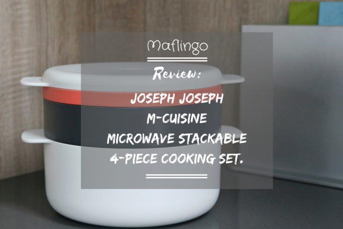 Joseph Joseph M-Cuisine microwave cooking set review & giveaway.
