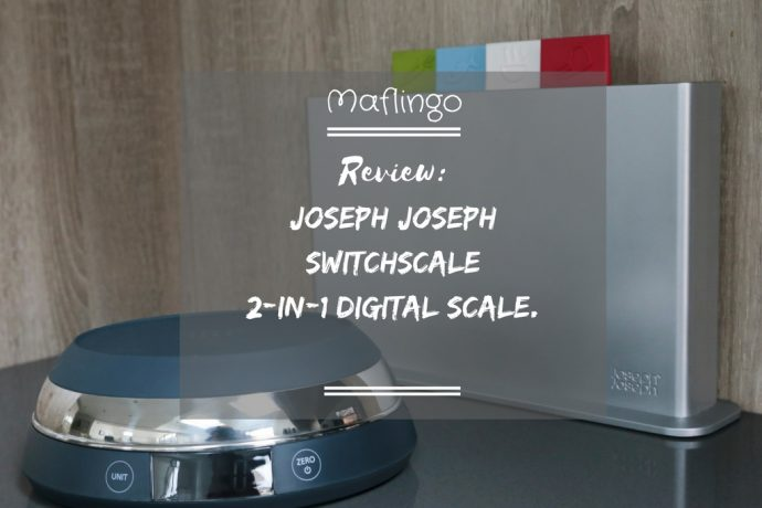 Joseph Joseph SwitchScale 2-in-1 digital scale review.