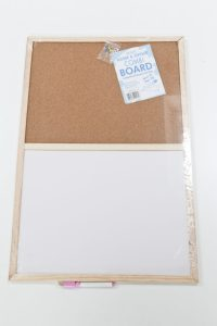Whiteboard/corkboard from The Range