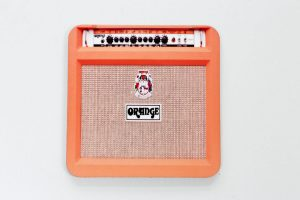 Orange Guitar amp coaster I based the pinboard on.