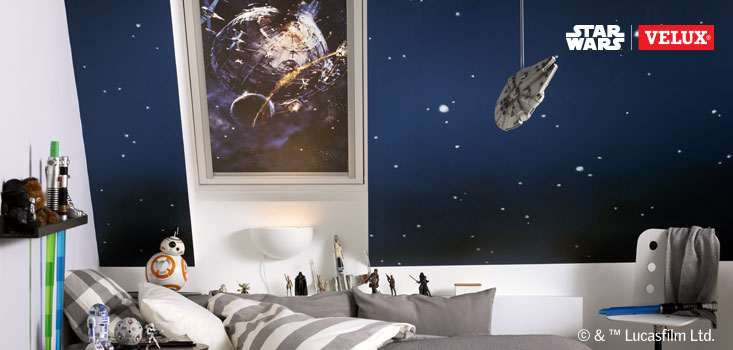 Star Wars Velux Blinds