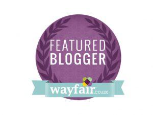 Wayfair Featured Blogger Badge