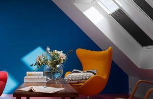 VELUX Blinds help to regulate light