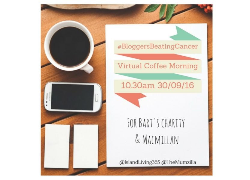 #BloggersBeatingCancer: Fighting cancer with coffee and a hashtag.