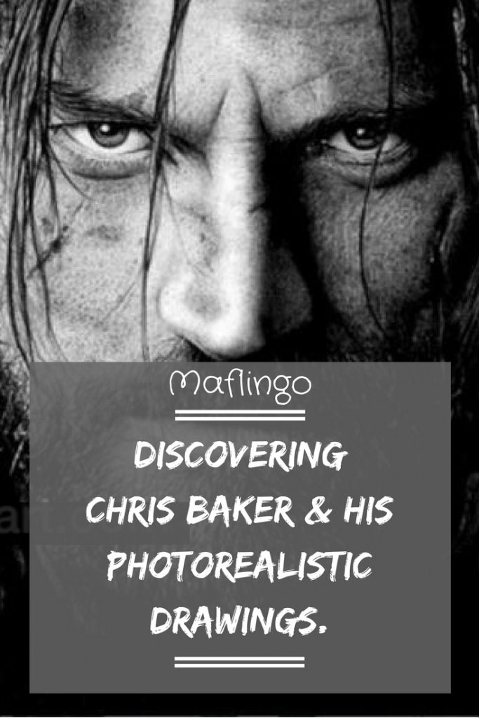 Discovering Autistic Artist Chris Baker from Cardiff and his photorealistic drawings plus giveaway