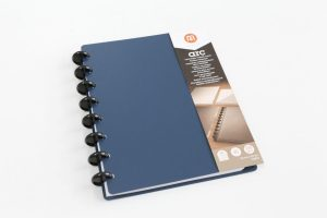 M by Staples Arc Customisable Poly Notebook in Blue