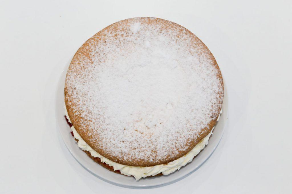 Morrisons 10 inch Fresh Cream Sponge Cake only costs £4